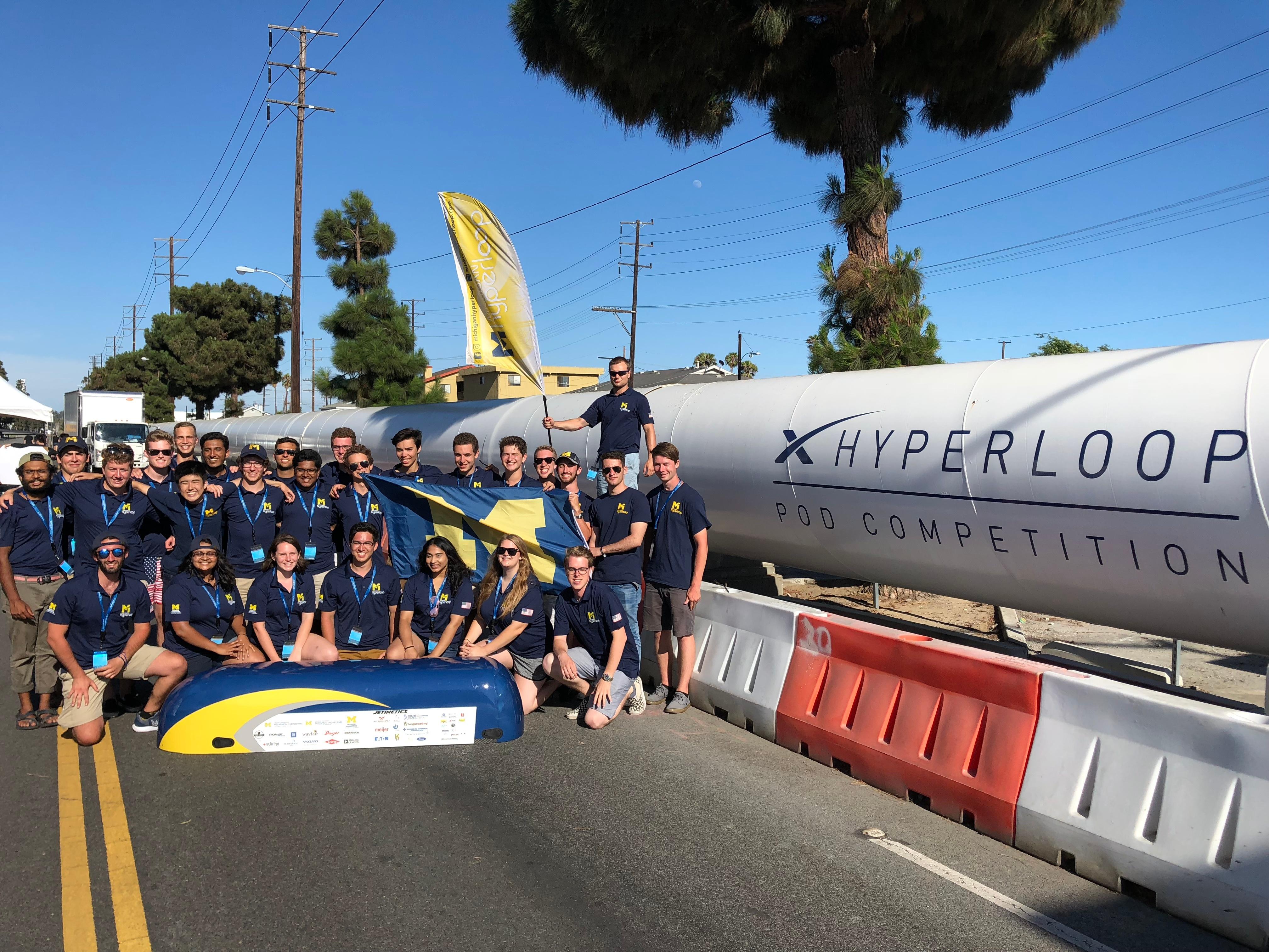 Michigan Hyperloop Team
